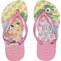 Havaianas Kid's Tangled Sandal (Toddler/Little Kid),Ice Blue,25/26 BR (10 M US Toddler)