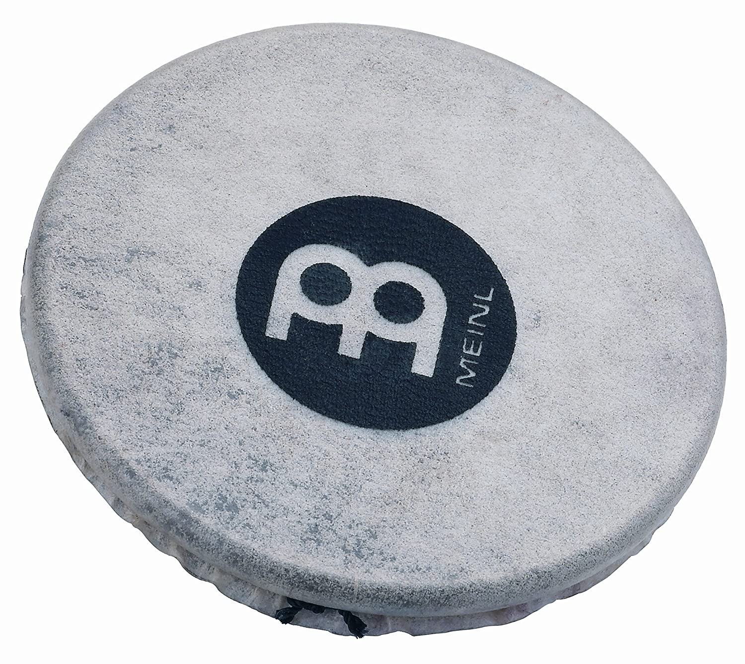 Meinl Percussion SH18 Headed Spark Shaker, Steel with Goat Skin Head