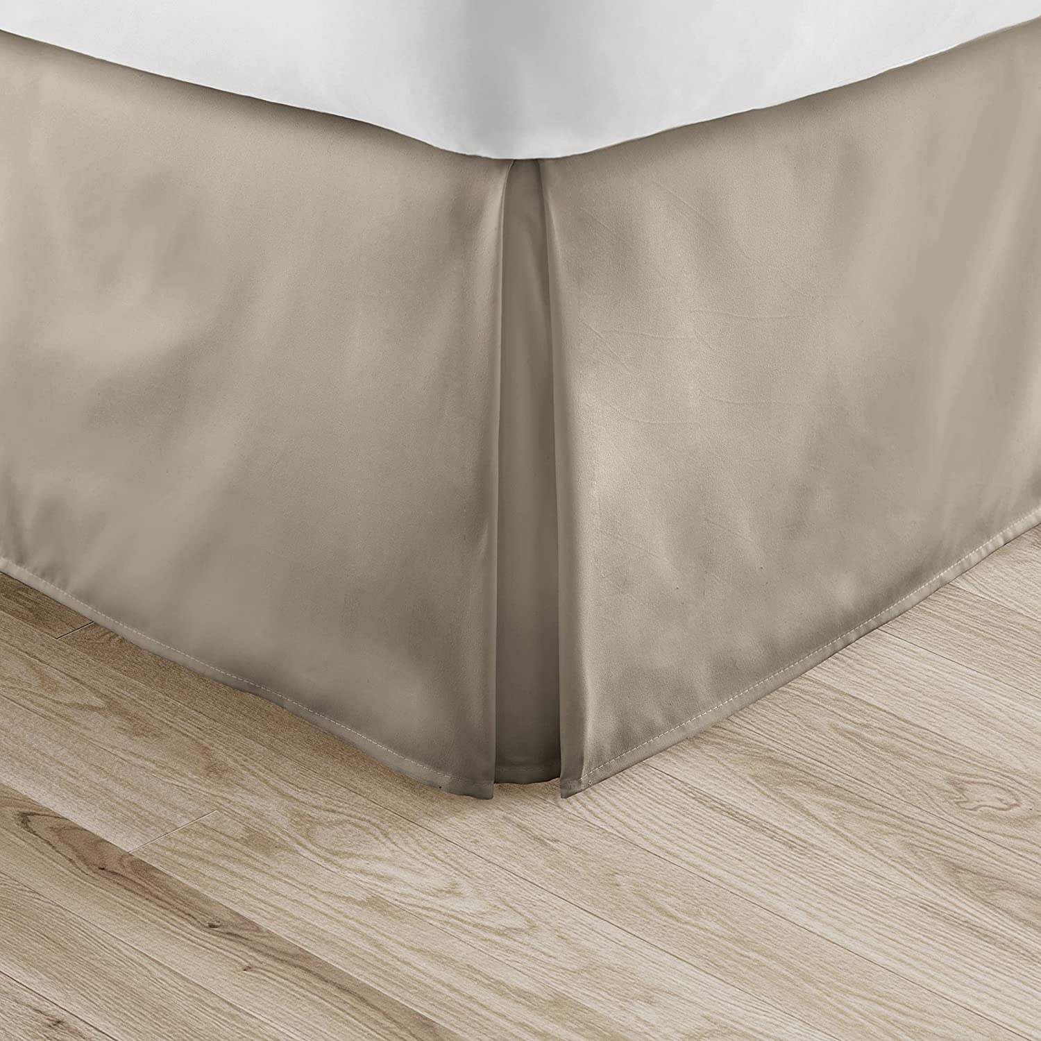Tremendous Bedding Drop Length Bed Skirt Egyptian Cotton US Queen Size All Color