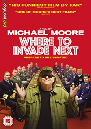Where to Invade Next [DVD] [UK Import]