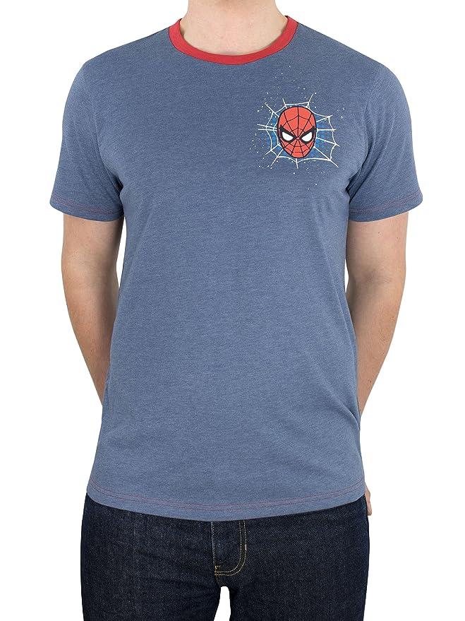 Spiderman Marvel El Hombre Araña - Camiseta para Hombre: Amazon.es: Ropa y accesorios