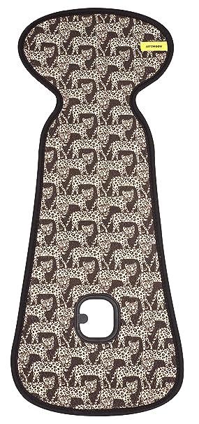 Aeromoov Air Layer Sitzeinlage Verhindert Dass Ihr Kind Schwitzt Bio Baumwolle Leoparden Größe Buggy Baby