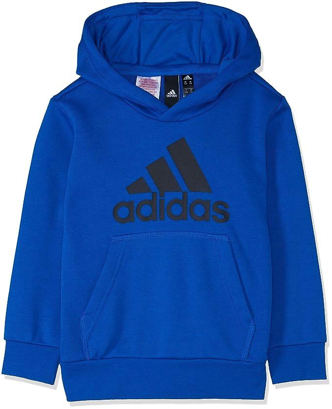 adidas Jungen Logo Hood Kapuzen-Sweatshirt
