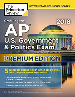 Amazon barrons ap us government and politics 9th edition cracking the ap us government politics exam 2018 premium edition college test preparation fandeluxe Image collections
