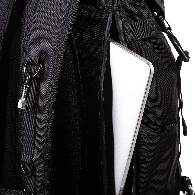 Animal Mens Urban Explorer Two Strap Backpack Black 28LTR