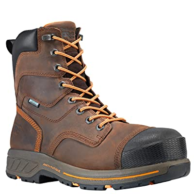 "Timberland PRO Men's Helix Hd 8"" Soft Toe Waterproof Industrial Boot   Industrial & Construction Boots"