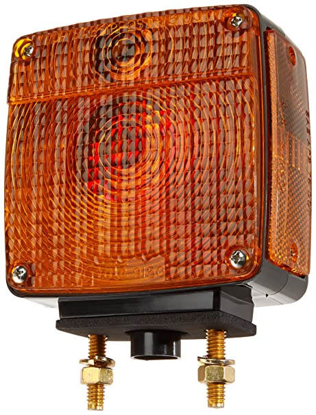 Grote 55470 Two-Stud Plug-In Light (with Sidemarker)