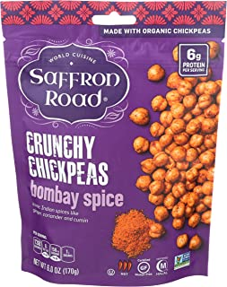 product image for Saffron Road Crunchy Chickpeas, Bombay Spice, 6 Ounce