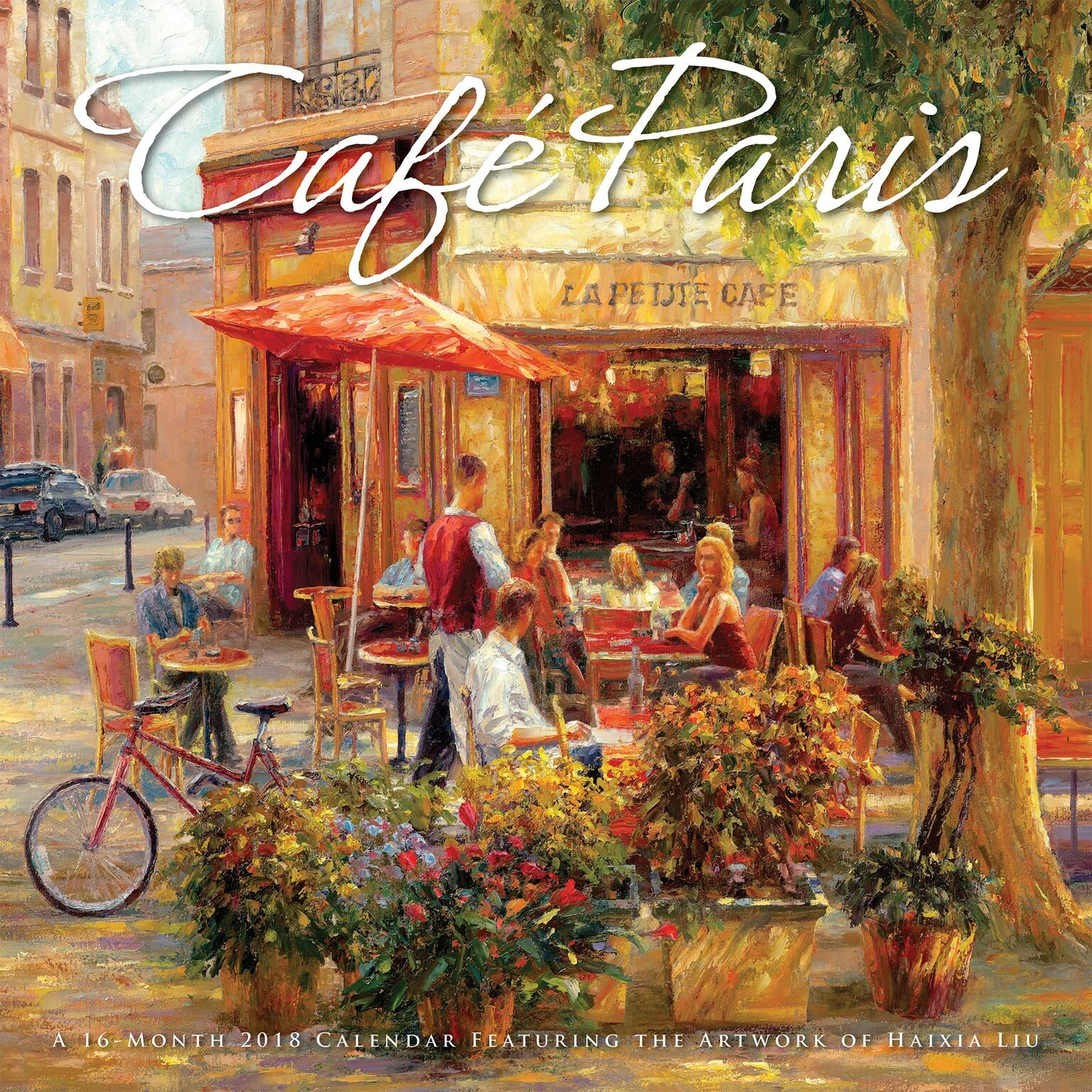 "Read Online 2018 AVALON 12"" X 12"" CAFE PARIS WALL CALENDAR pdf"