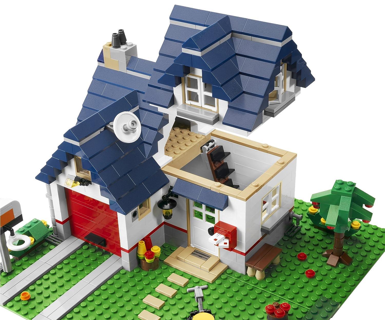 Lego Creator 5891 Haus Mit Garage Amazon De Spielzeug