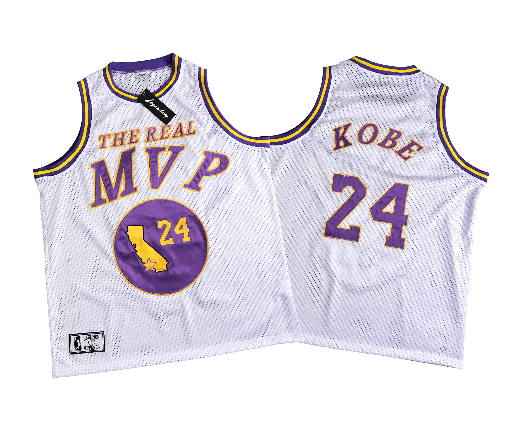 Legends Brand Men's The Real MVP Kobe Jersey Limited Edition (Large)