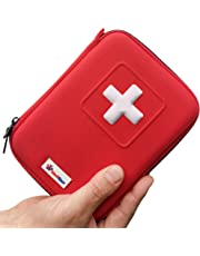First Aid Kit - Designed for Family Emergency Care - Ideal for Home Car Travel Camping and Outdoor Activities – 100Pieces in Case