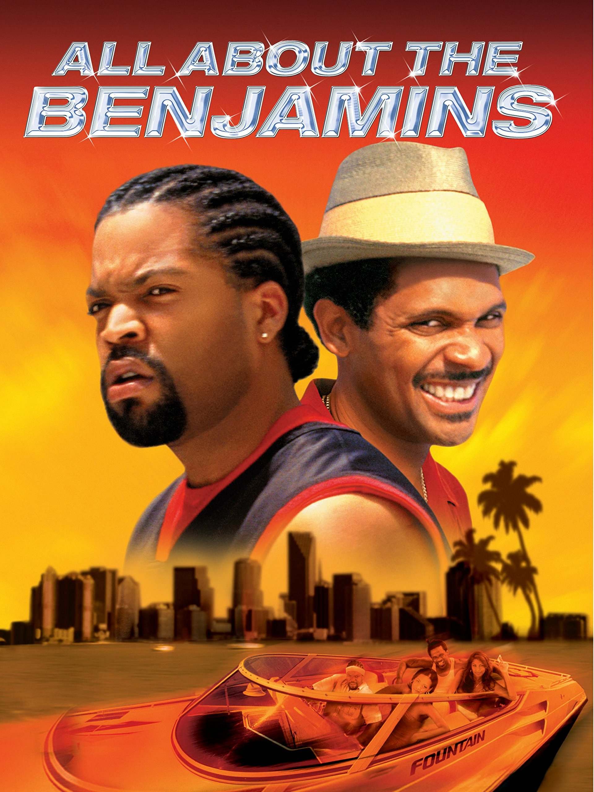 Ice cube as bucum film title all about the benjamins stock photos.