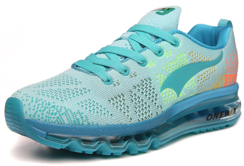 ONEMIX Womens Air Cushion Outdoor Sport Running Shoes Lightweight Casual Sneakers B07894M3WB Men 6.5(M)US 39EU/Women 8(M)US 39EUR Light/Blue
