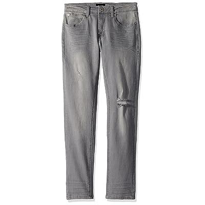 HUDSON Boys' Jude Skinny Jean, Ice Gray, 10