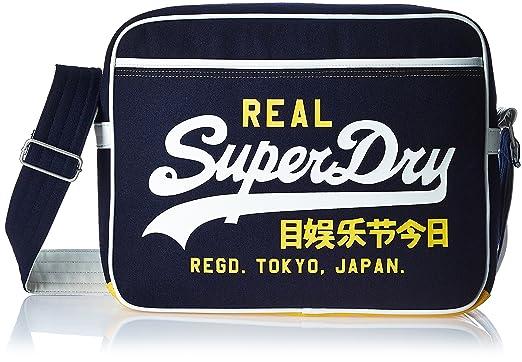 Superdry Mash Up Melton-Alumni Navy - Bags
