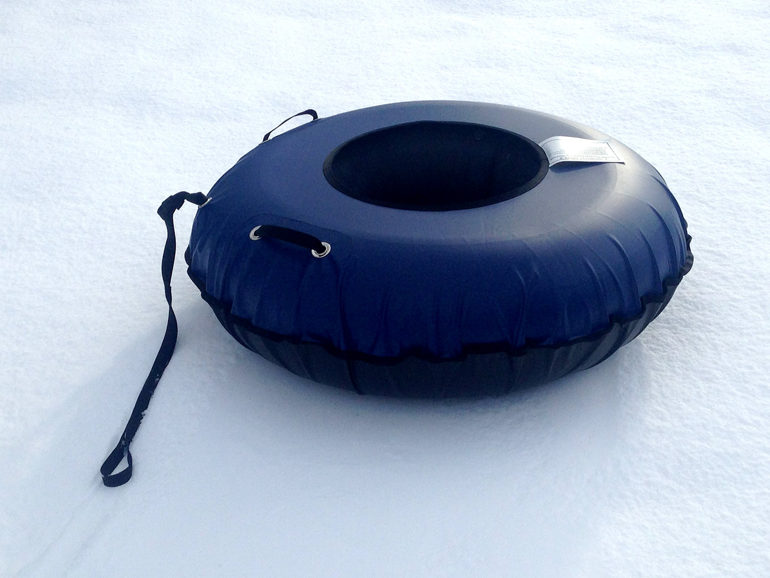 Tube In A Box, Original and Best Swim and Snow Inner Tube (45'' Blue Cover (only))