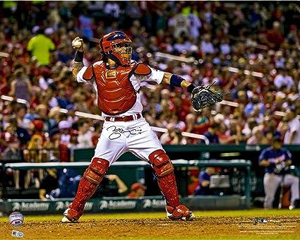 5eecdefab Yadier Molina St. Louis Cardinals Autographed 16