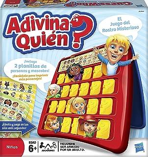 Hasbro Gaming Juego De Mesa Adivina Quien Amazon Com Mx Juegos Y