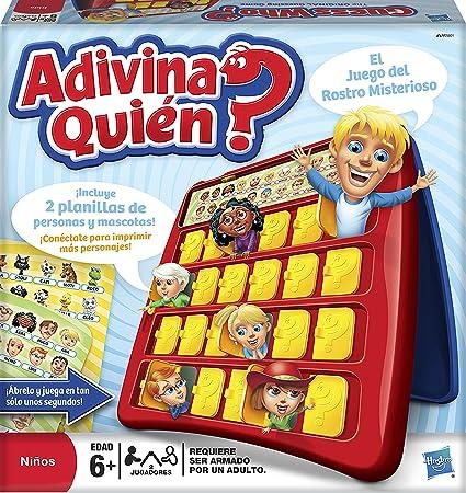 Hasbro Gaming Juego Adivina Quien Amazon Com Mx Juegos Y Juguetes