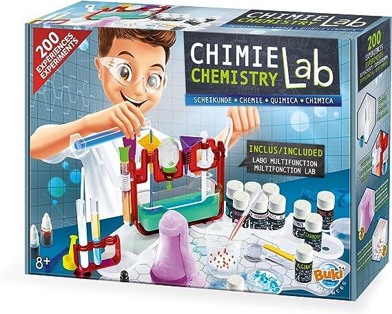 Le petit laboratoire de chimie