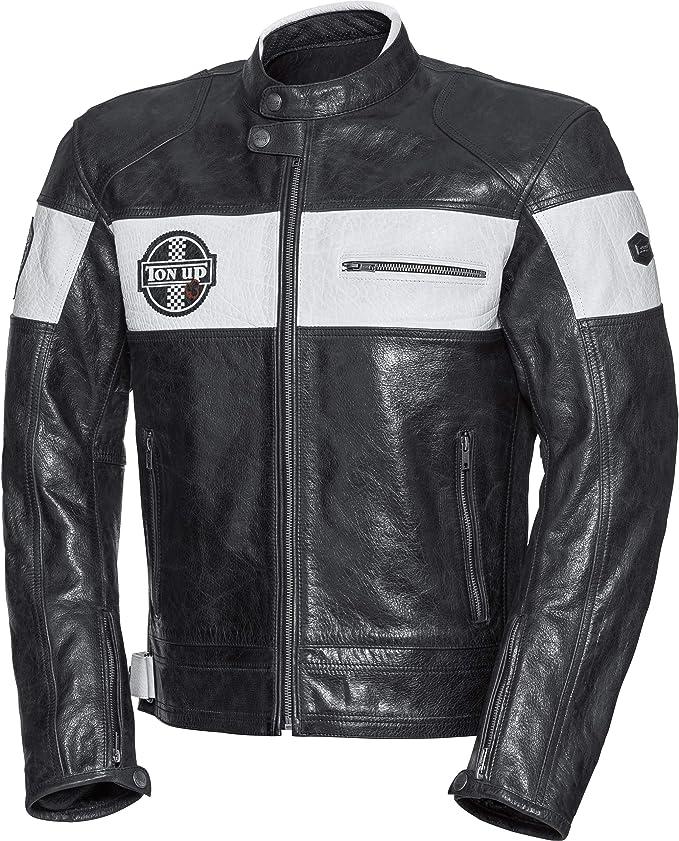 Spirit Motors Motorradjacke Mit Protektoren Motorrad Jacke Retro Style Lederjacke 4 0 Herren Chopper Cruiser Sommer Bekleidung
