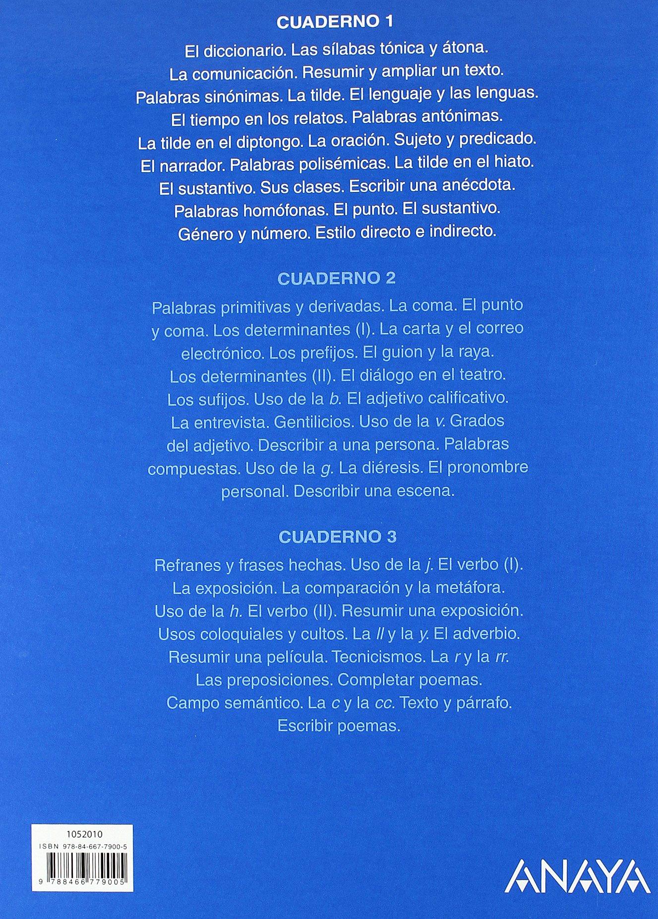 Lengua 5. Cuaderno 1. (Abre la puerta): Amazon.es: María Isabel Fuentes Zaragoza: Libros