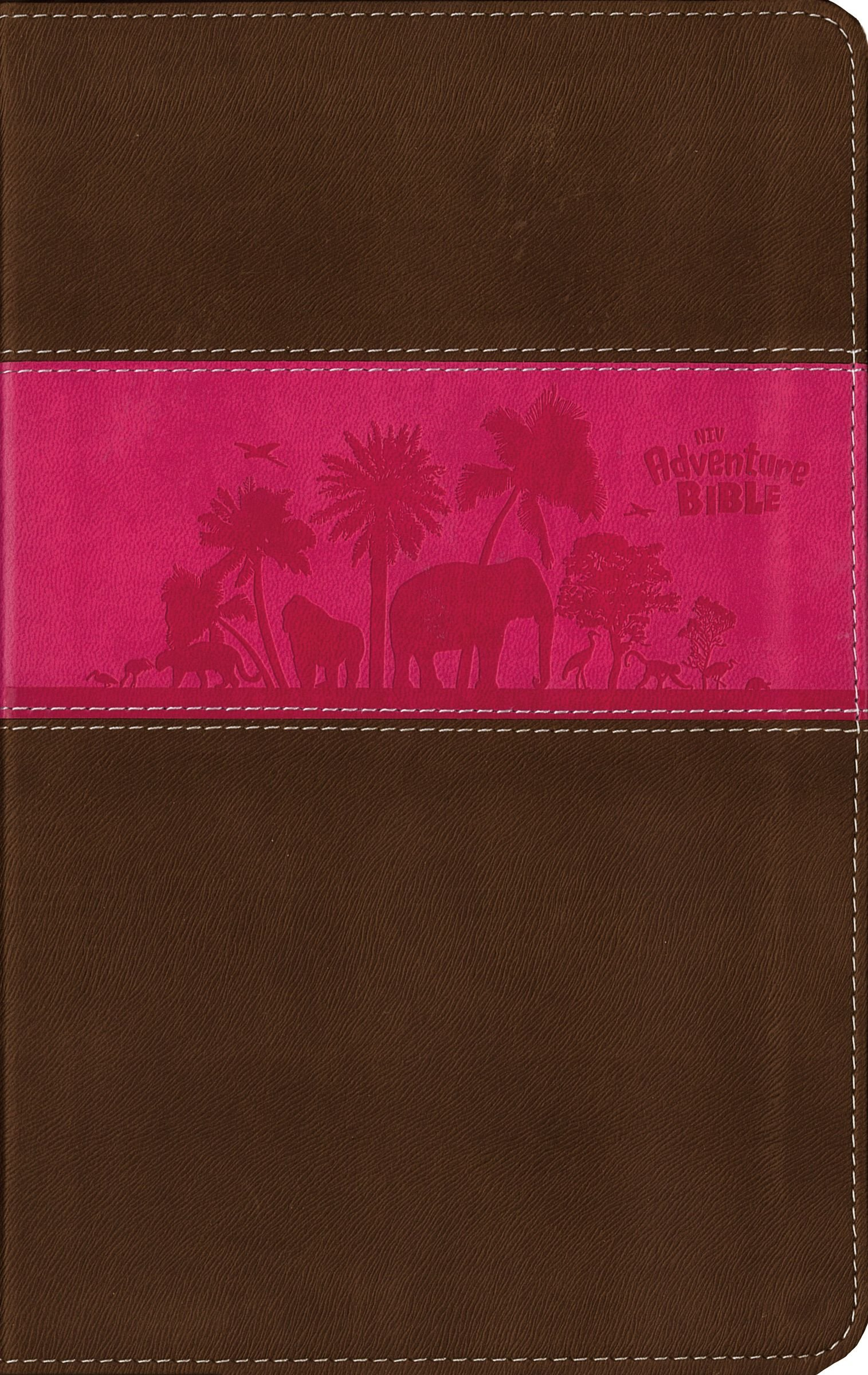 Download NIV, Adventure Bible, Imitation Leather, Pink/Brown, Full Color PDF