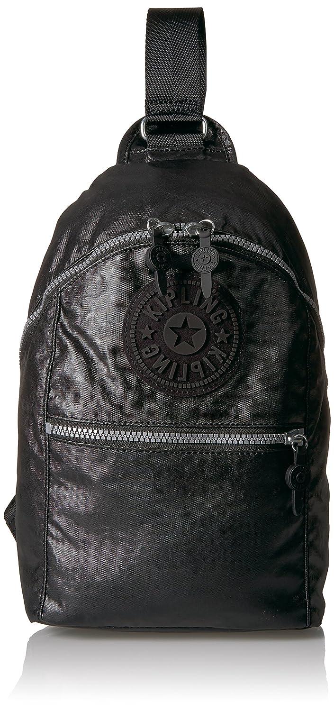 Kipling Bente Lacquer Black Sport Sling Backpack lacqrblack BP4252
