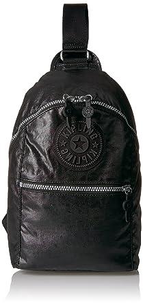 1e45c60416 Amazon.com: Kipling Bente Lacquer Black Sport Sling Backpack ...