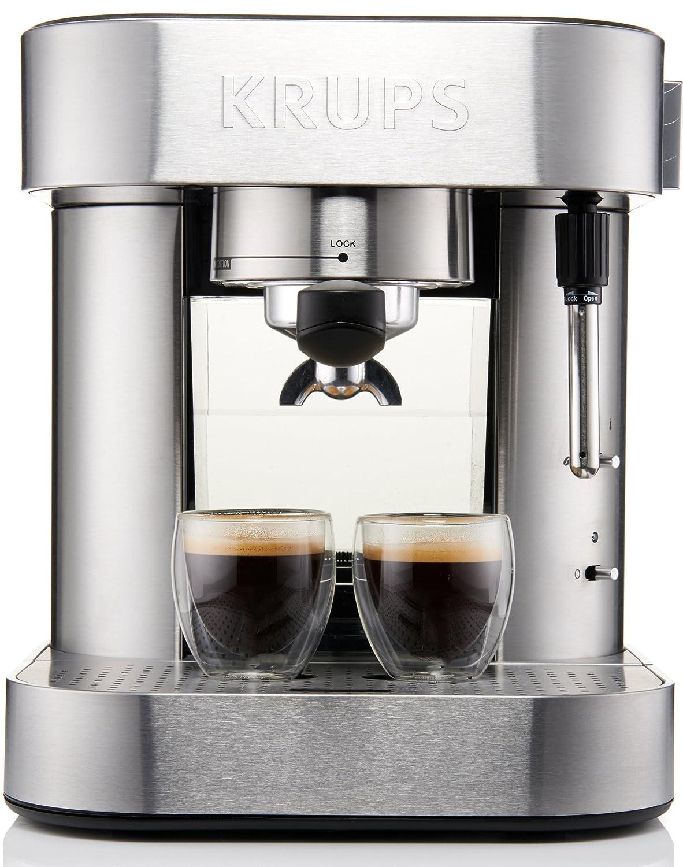 amazon com krups xp6010 pump espresso machine with thermo block rh amazon com krups espresso machine manual xp4030 krups espresso machine manual xp1020