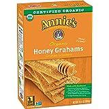 Annie's Organic Graham Crackers, Honey Grahams, 14.4 Oz Box