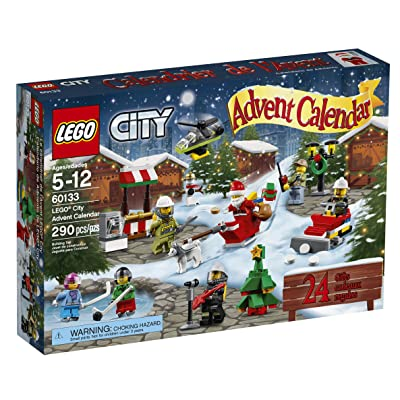 LEGO City Town 60133 Advent Calendar Building Kit (290 Piece) (Discontinued by Manufacturer): Toys & Games [5Bkhe2007353]