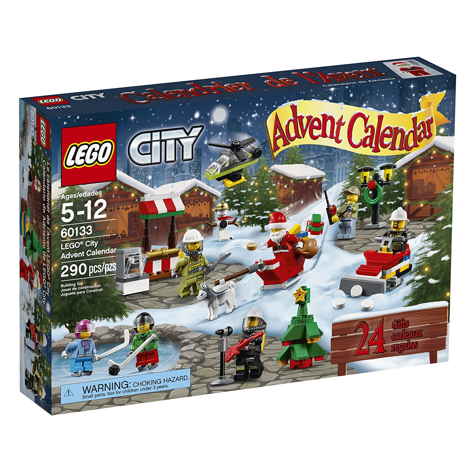 lego advent calendar girl