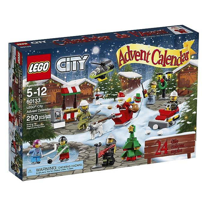 Amazon Com Lego City Town 60133 Advent Calendar Building Kit 290