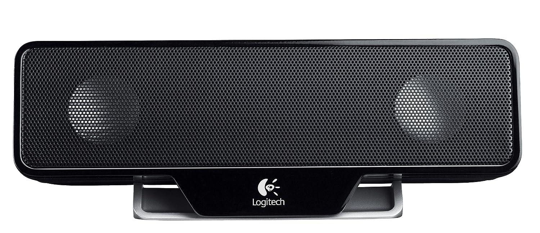 Logitech 980 000012 s120 2 piece black desktop computer speaker set - Logitech Z205 Portable Computer Speaker Black Amazon Ca Computers Tablets