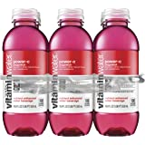 vitaminwater power-c bottles, 16.9 fl oz (Pack of 6)
