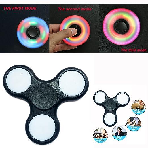 16 opinioni per Cisixin Tri Fidget Hand Spinner, LED Fidget Spinner Mano Dito EDC Giocattolo con