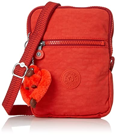 9ae872084c4 Amazon.com | Kipling ESSYLA Messenger Bag, 21 cm, 0.5 liters, Red (Active  Red) | Messenger Bags