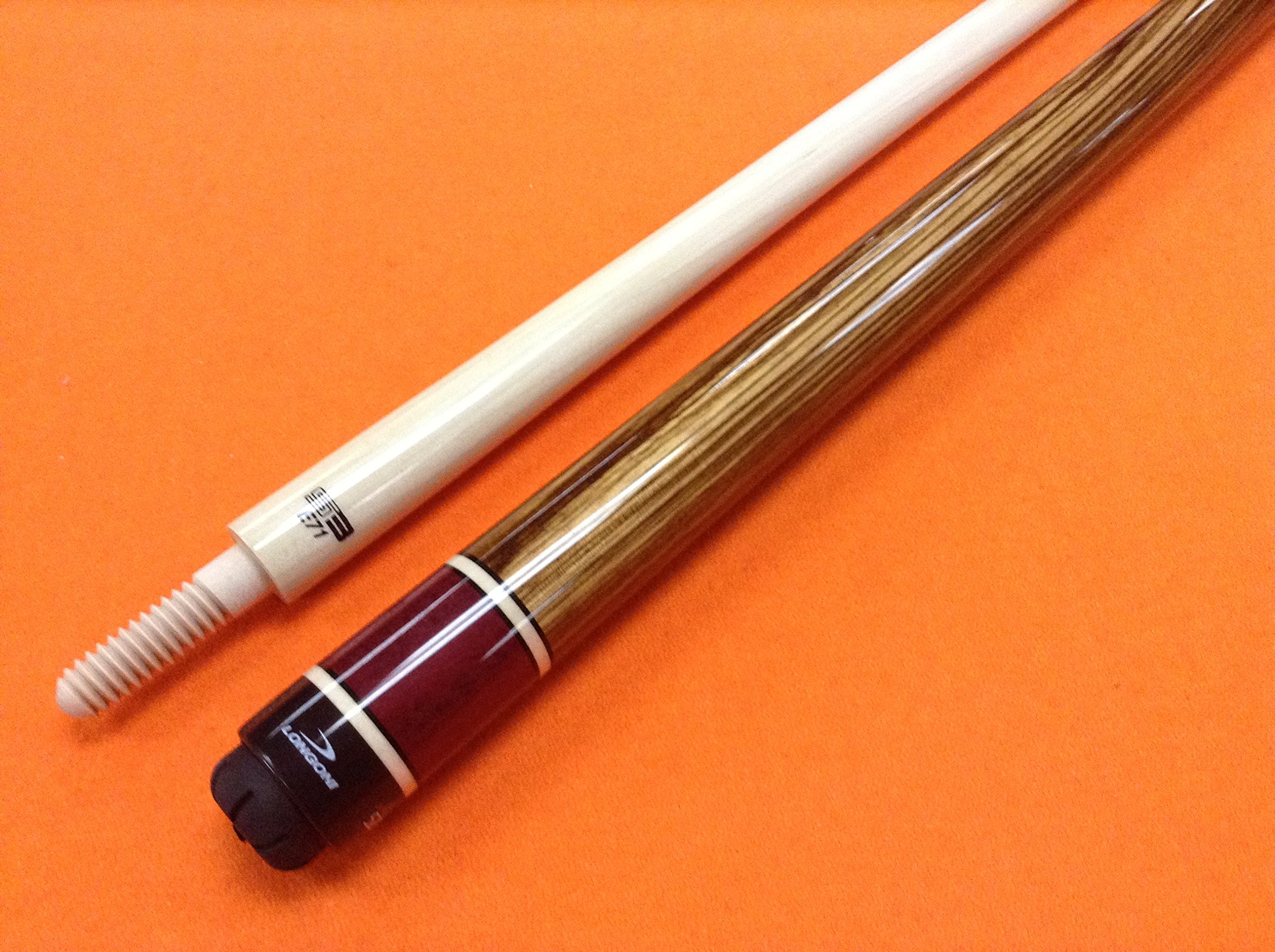 LONGONI CAROM CUE GINEVRA with S3 SHAFT