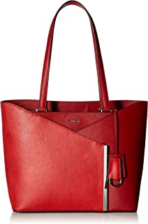 f3e1dc0933 Calvin Klein Mara Saffiano Leather and Mystic Snake East/West Tote
