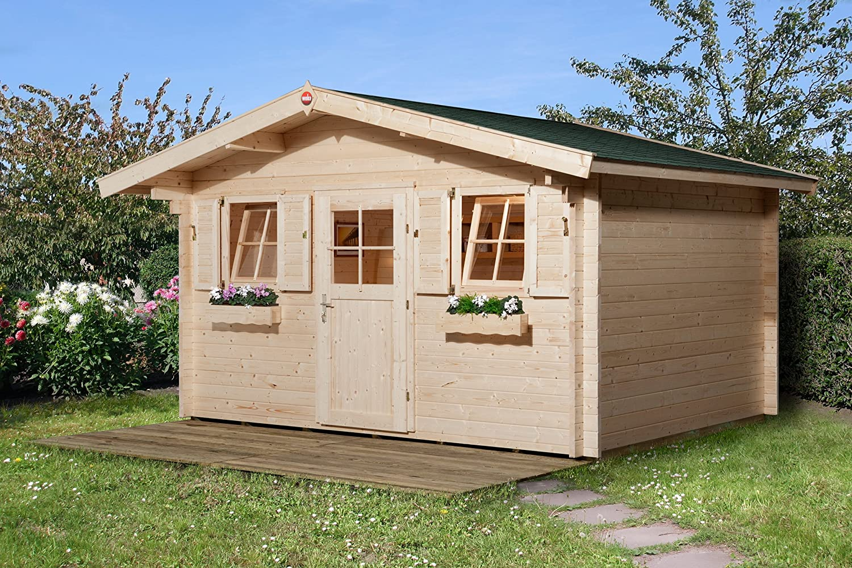 Weka Gartenhaus 138 Gr. 2 Vordach 60 cm