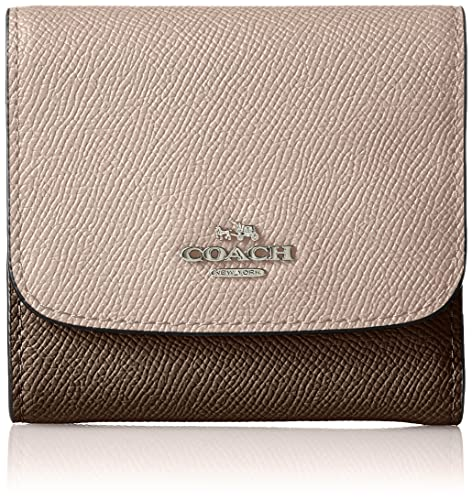 Coach Cartera para mujer mujer beige Silver/Stone Multi: Amazon.es: Zapatos y complementos