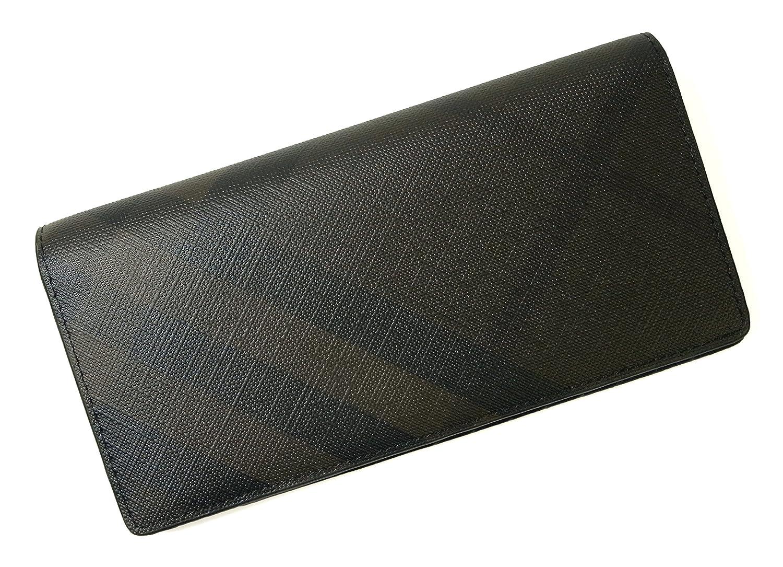 [バーバリー] 長財布 メンズ 二つ折 スモークトチェック (チョコレート) BR-1226 [並行輸入品] B01DINW2J2