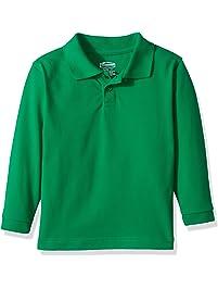 8ab66643 Classroom School Uniforms Kids' Toddler Preschool Unisex Long Sleeve Pique  Polo