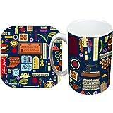 Selina-Jayne Sewing Limited Edition Designer Mug and Coaster Gift Set