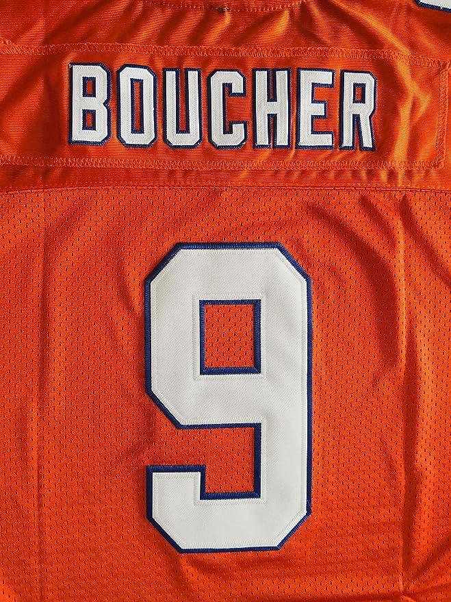 The Waterboy #9 Bobby Boucher Adam Sandler 50th Anniversary Movie Mud Dogs Bourbon Bowl Football Jersey