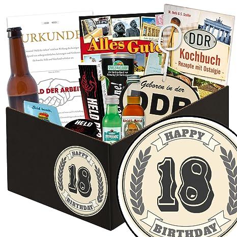 Geschenke 18 Jahrestag Manner Box Manner Set 18