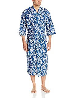 Majestic International Men s Screen Play Print Kimono Robe cb69bfcdf