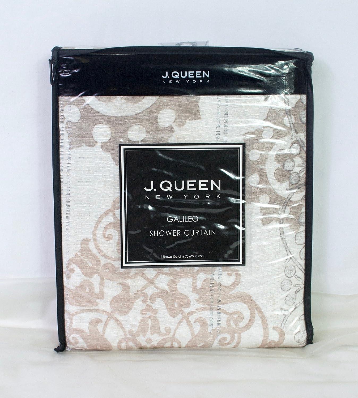 Amazon J Queen Bath Galileo Shower Curtain Natural 70 X 72 Home Kitchen